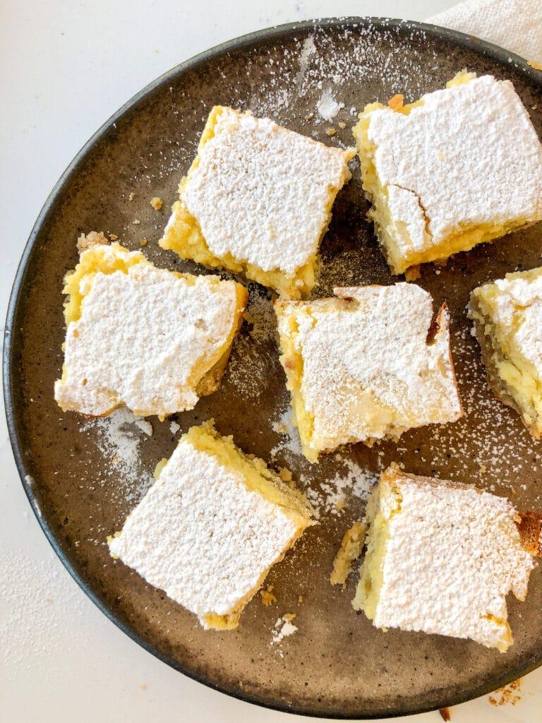 Lemon-Ricotta Bars with Flax Seed Infused Crust, Healthyish