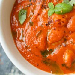 Classic Tomato Soup with Gnocchi