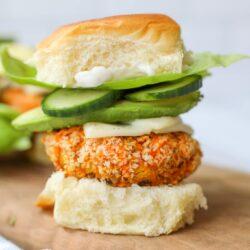 4 Ingredient Vegan Burgers