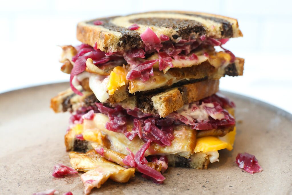 Vegan Rueben Sandwich - Healthyish