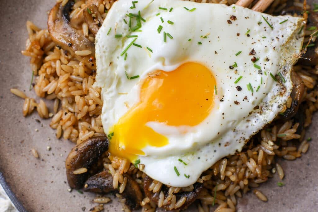 Savory Breakfast Rice - Healthyish Foods