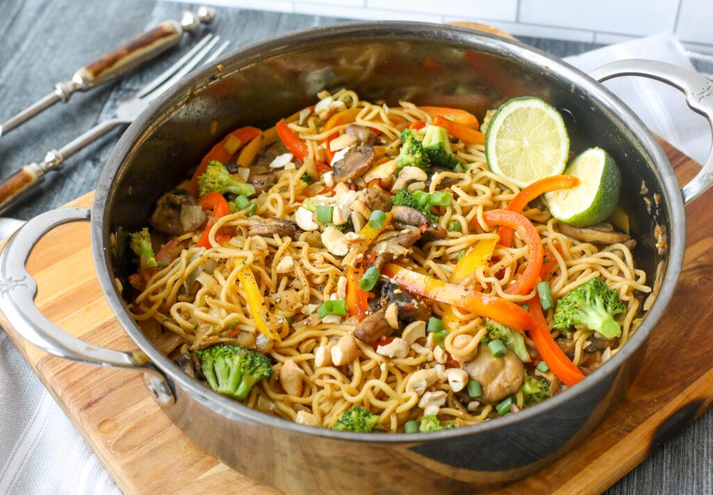 Plant Based Vegetable Stir Fry- Healthyish Foods