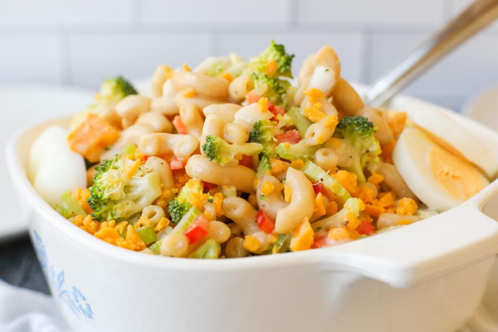 Creamy Macaroni Salad- Healthyish Foods