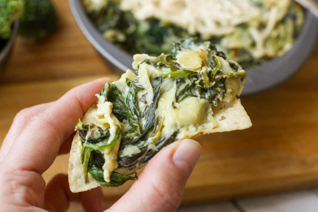 Plant Based Spinach and Artichoke Dip – Healthyish Foods