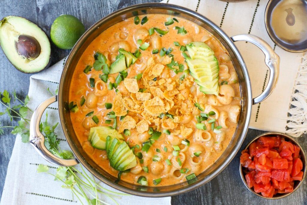 Stovetop Mexican Mac n' Cheese – Healthyish Foods