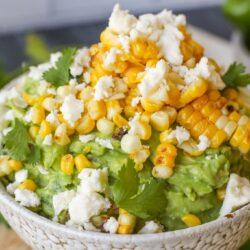 Street Corn Guacamole – Healthyish Foods