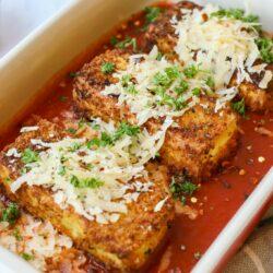 Plant-Based Tofu Parmesan – Healthyish Foods