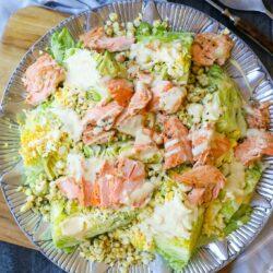 Salmon Wedge Salad and Honey Mustard Dressing – Healthyish Foods
