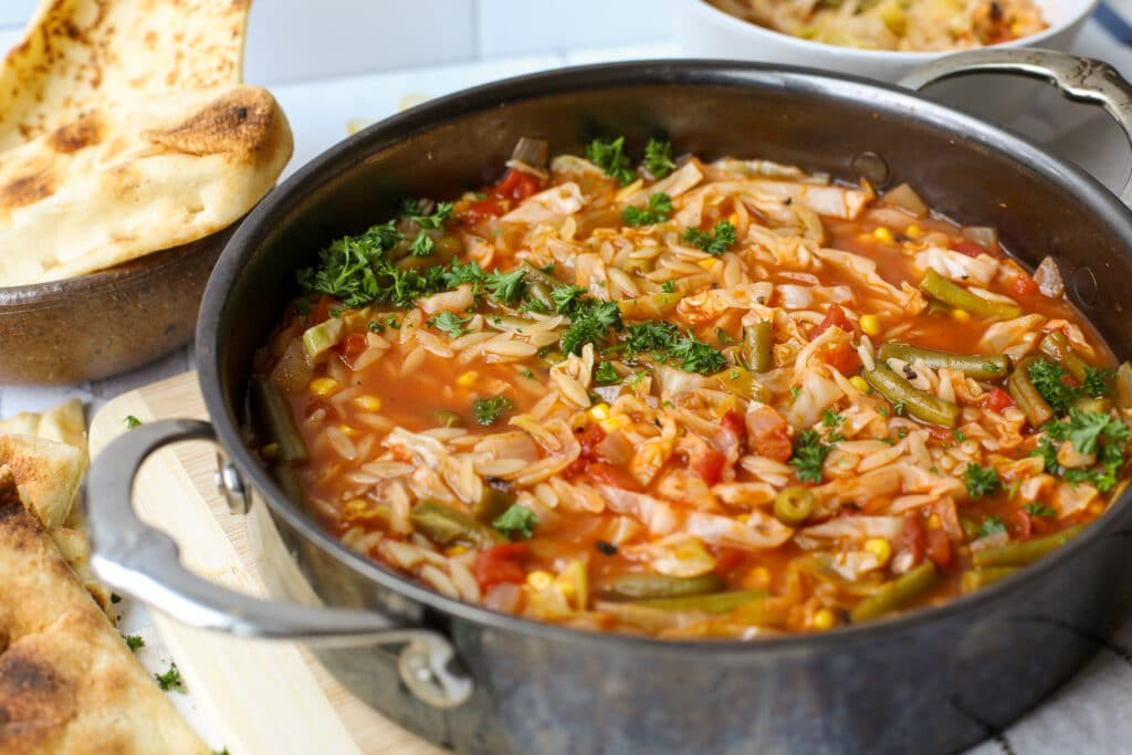 Cabbage Soup with Orzo Pasta – Healthyish Foods
