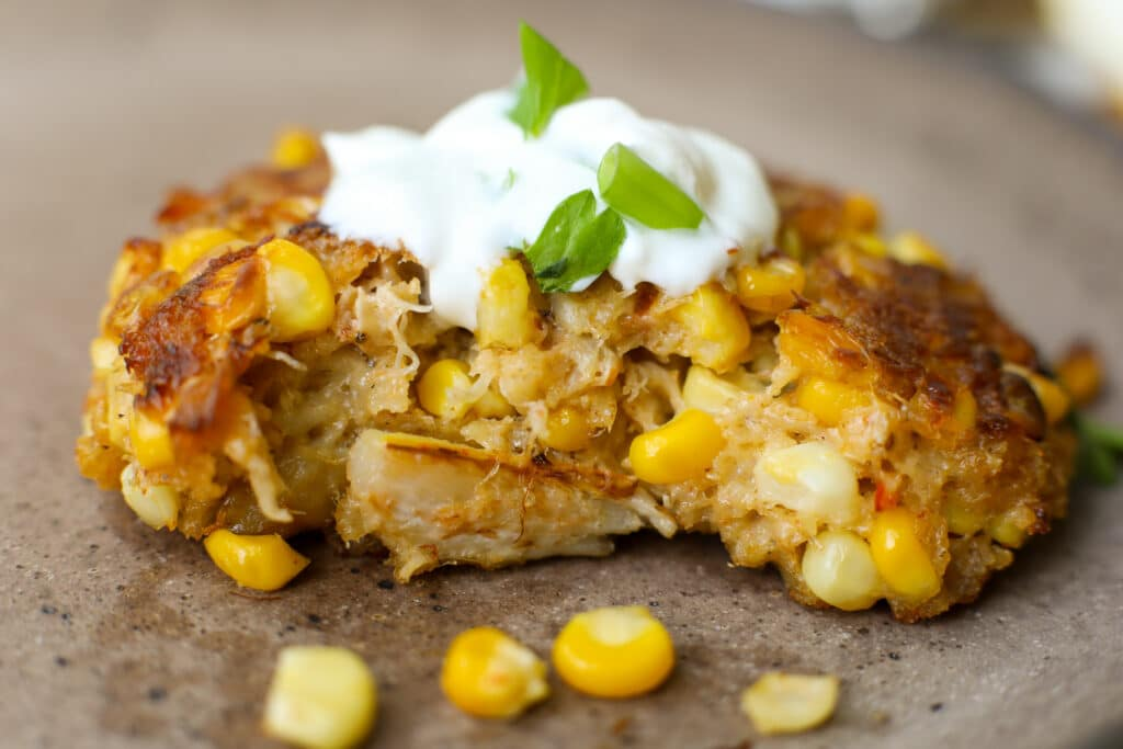 Baked Corn and Crab Cakes – Healthyish Foods