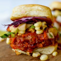 "The BEST Vegan ""Pulled Pork"" Sandwich - Healthyish Foods"