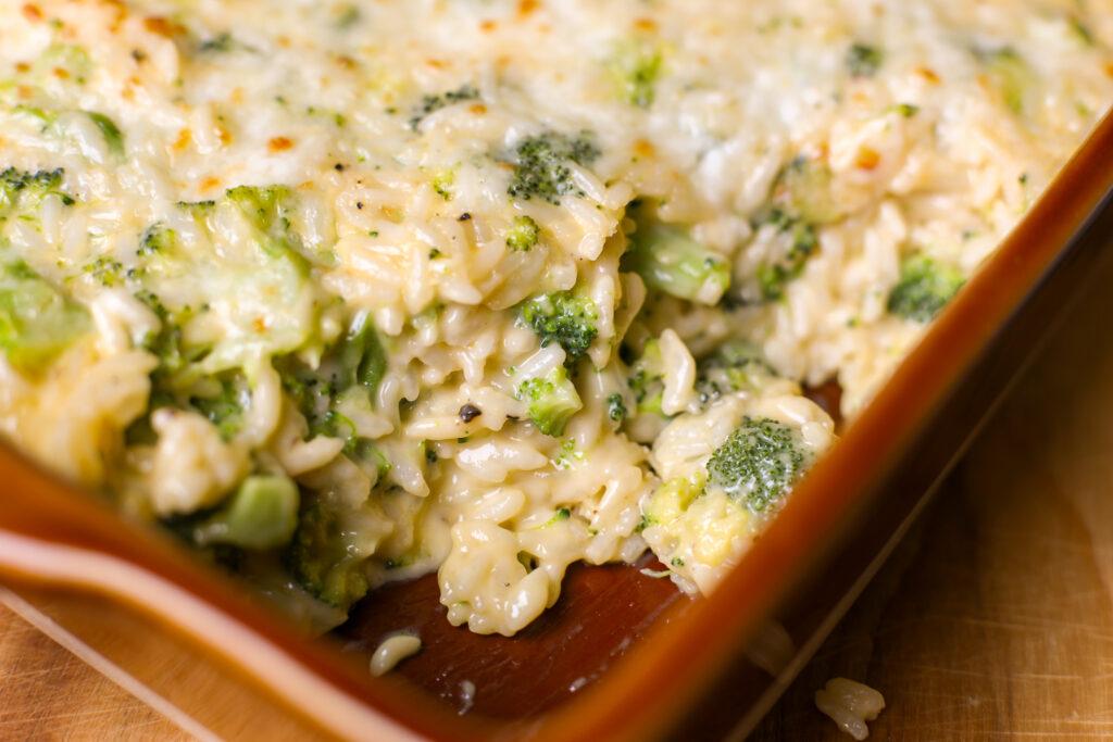 Cheesy Broccoli and Rice Casserole – Healthyish Foods