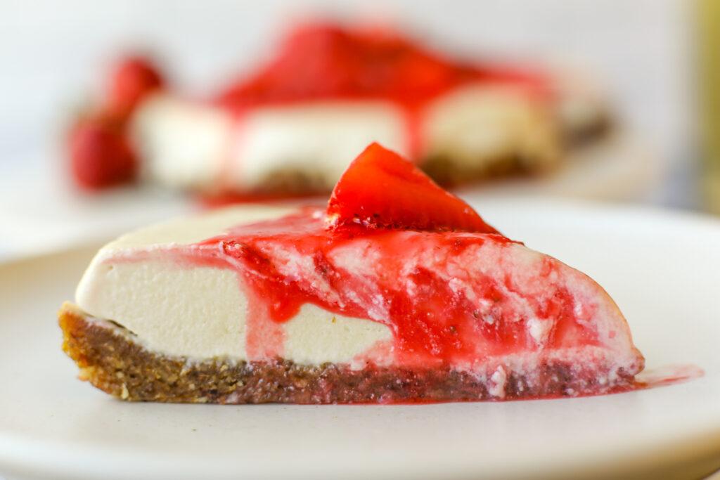 No Bake Vegan Cheesecake – Healthyish Foods