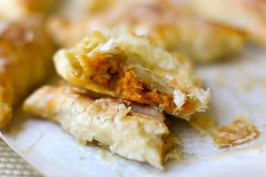 Sweet Potato Turnovers with Maple Glaze – Healthyish Foods