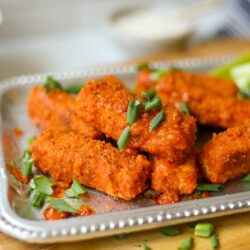 Plant Based Buffalo Tofu Tenders – Healthyish Foods