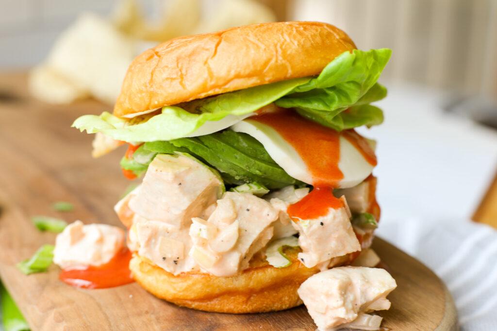 Buffalo Chicken Salad- Healthyish Foods
