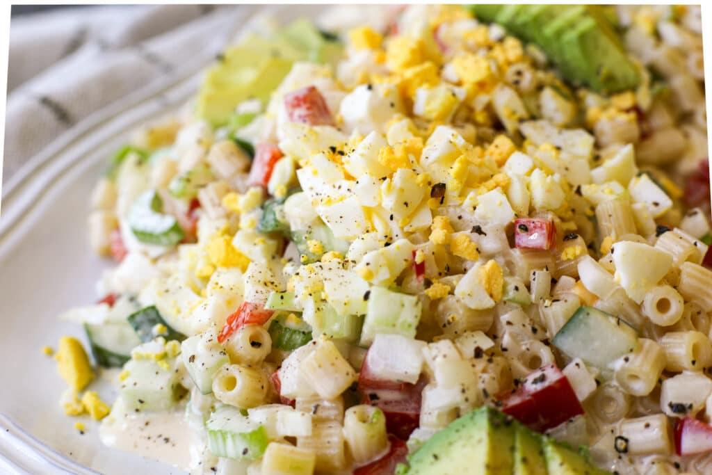 Ditalini Pasta Salad – Healthyish Foods