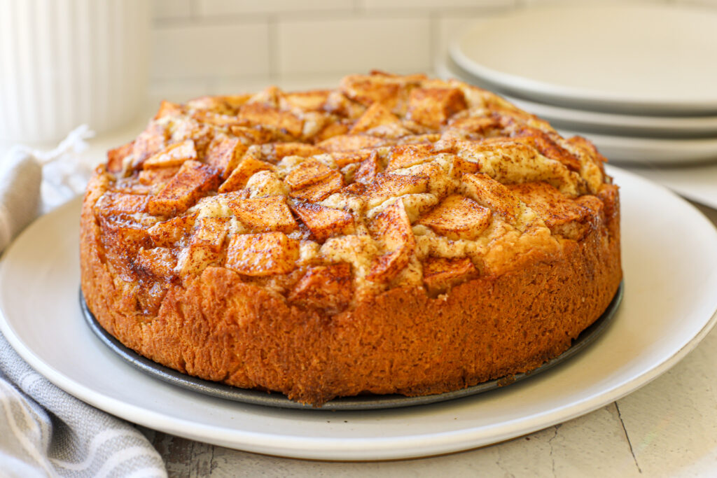 The BEST Dutch Apple Cake - Healthyish Foods