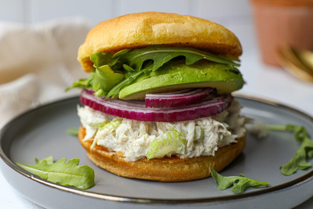 Light and Creamy Crab Salad – Healthyish Foods
