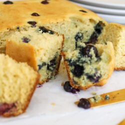 Blueberry Muffin Breakfast Squares - Healthyish Foods