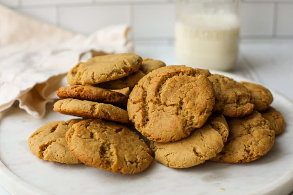 Plant-Based Peanut Butter Cookie – Healthyish Foods
