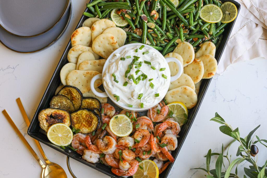 Tzatziki Snack Board – Healthyish Foods
