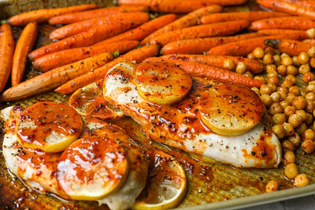 Baked Harissa Chicken -Healthyish Foods