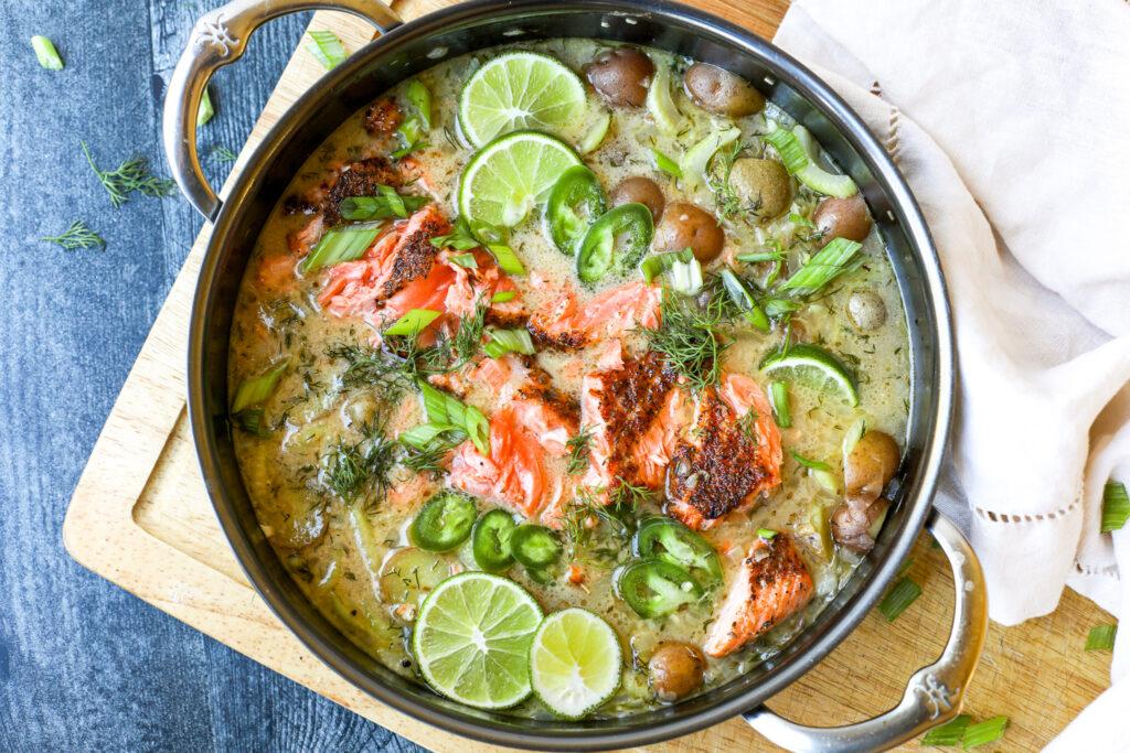 Salmon Chowder – Healthyish Foods