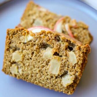 Cinnamon Apple Bread - Healthyish Foods