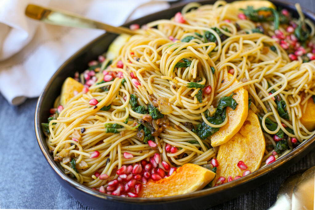 Butternut Squash Pasta with Lemon Butter – Healthyish Foods