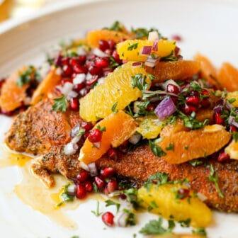 Blackened Citrus Salmon- Healthyish Foods