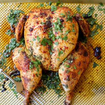 Whole Roasted Harissa Chicken – Healthyish Foods