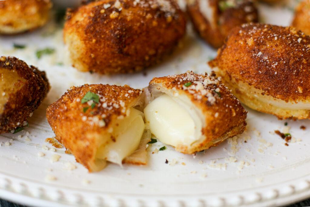 Mozzarella Stuffed Onion Roll- Ups – Healthyish Foods