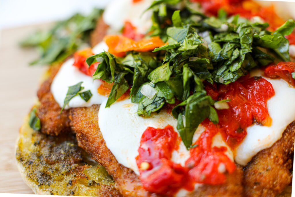 Breaded Chicken Cutlet Sandwich – Healthyish Foods