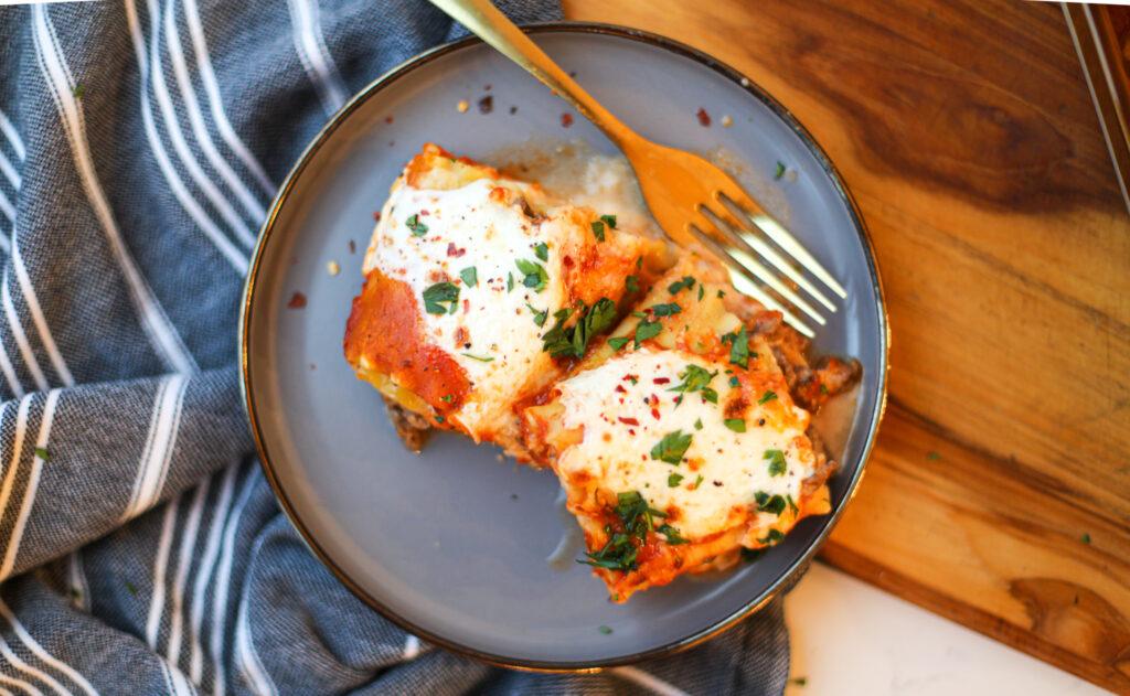 Lasagna Roll-Ups – Healthyish Foods