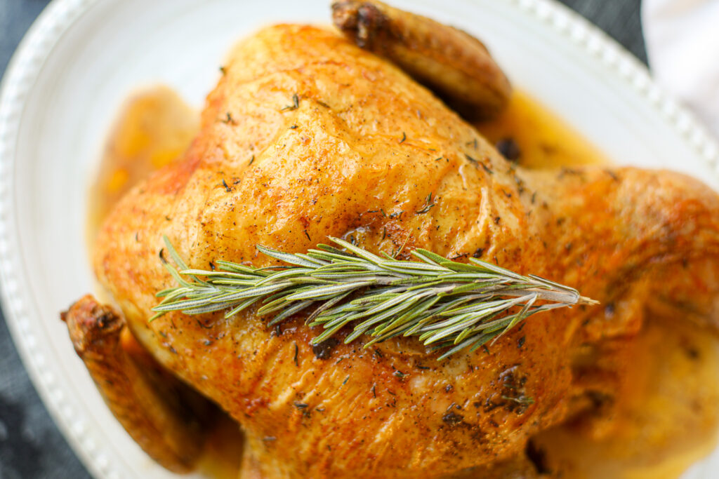 Whole Roasted Herb Chicken – Healthyish Foods
