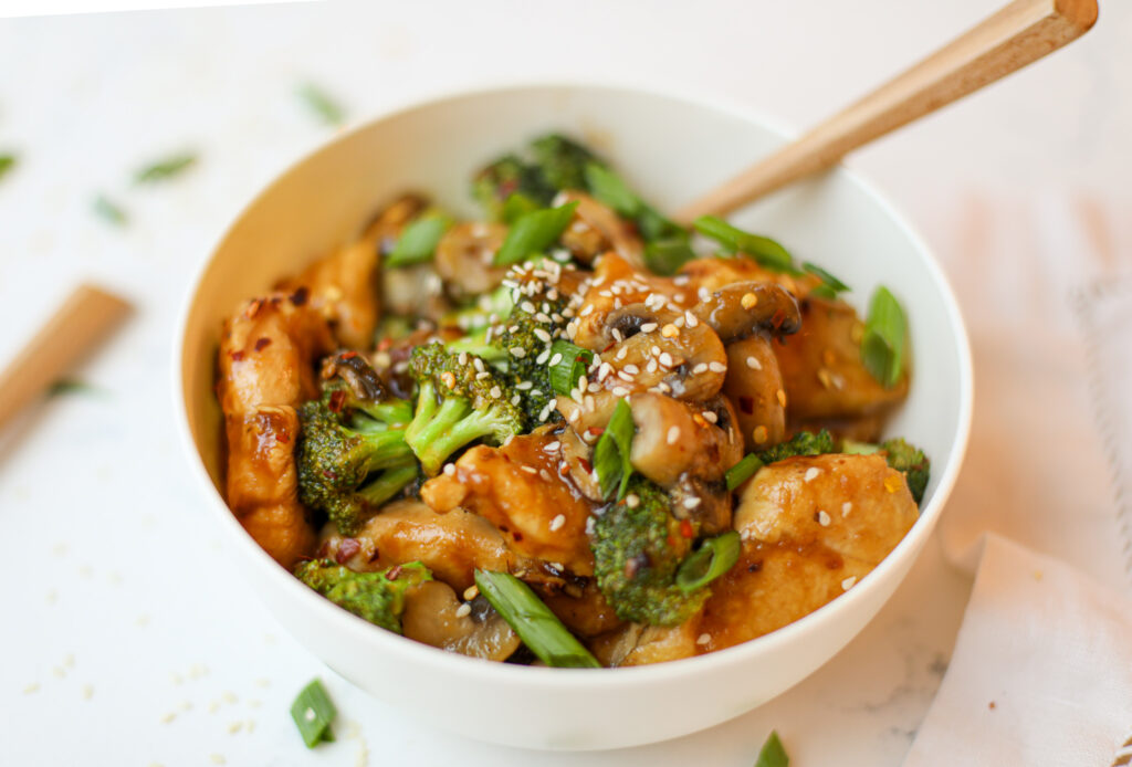 Chicken and Broccoli Stir Fry – Healthyish Foods