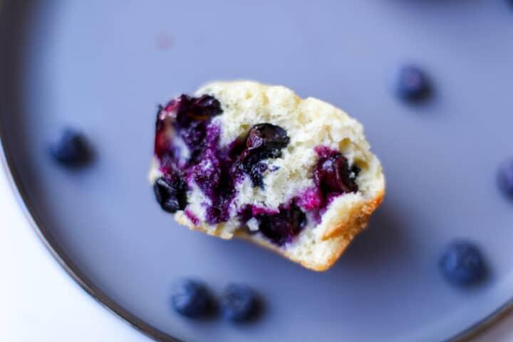 Blueberry Muffins – Healthyish Foods