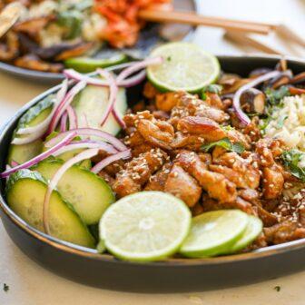 Sticky Chicken Rice Bowl – Healthyish Foods