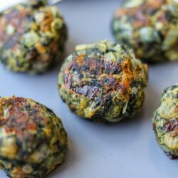 Cheesy Spinach Balls – Healthyish Foods