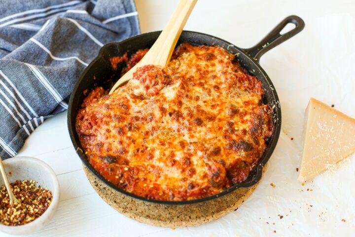 Baked Eggplant Parmesan – Healthyish Foods