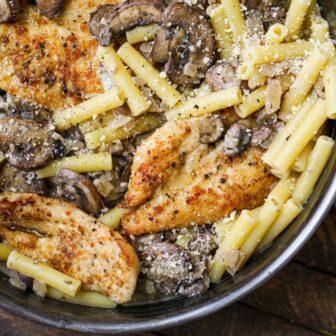 Creamy Garlic Parmesan Chicken – Healthyish Foods