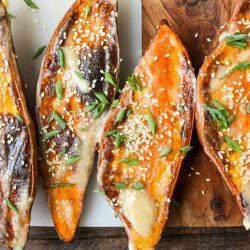 Miso Butter Sweet Potatoes – Healthyish Foods