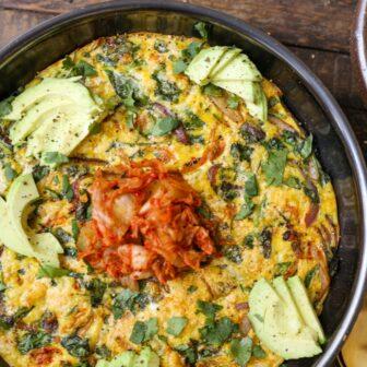 Kimchi Frittata – Healthyish Foods