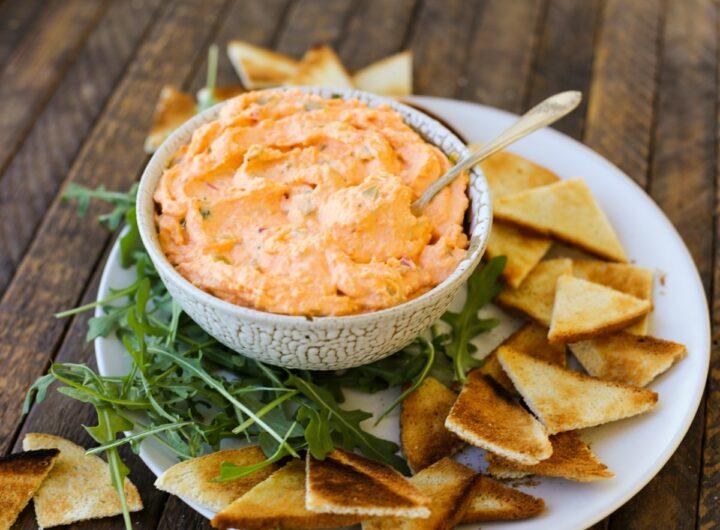 Healthyish Pimento Cheese Dip