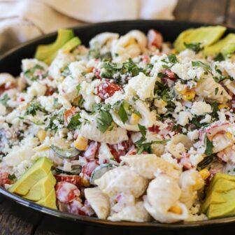 Street Veggie Pasta Salad