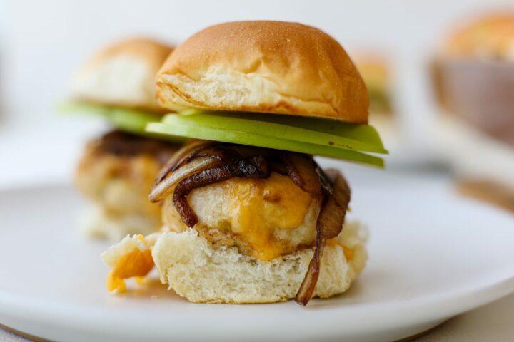 Chicken Apple Sliders – Healthyish Foods
