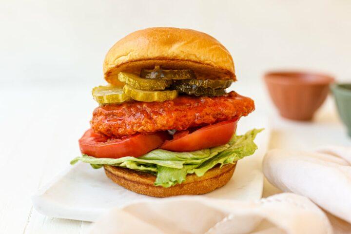 copycat wendy's spicy chicken sandwich - healthyish