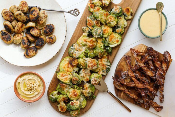 Keto snack board - healthyish foods