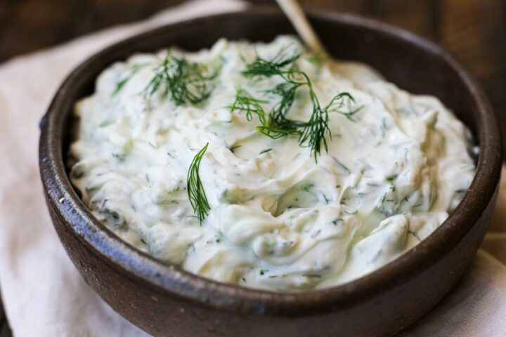 Easy Tzatziki Sauce – Healthyish Foods